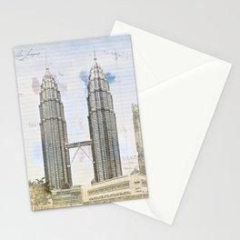 Petronas Towers, Kuala Lumpur Stationery Cards