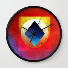 Ace of Diamond Wall Clock