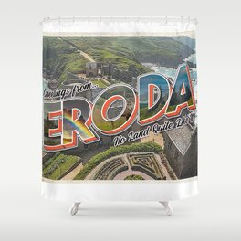Eroda Artwork / Harry Styles Shower Curtain