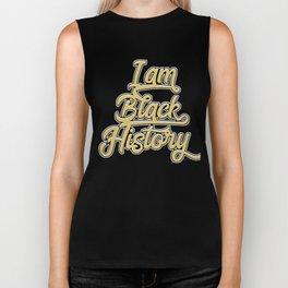 Retro I am Black History Shirt Lives Matter Pride African Biker Tank