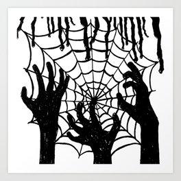 Horror Story Art Print