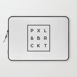 P X L & B R C K T Laptop Sleeve