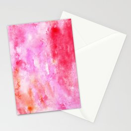 Watercolor series #4 Stationery Cards