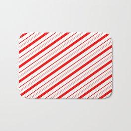 Candy Cane Stripes Bath Mat