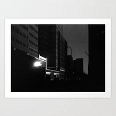 Downtown (Journey to School Series, 2003) Art Print