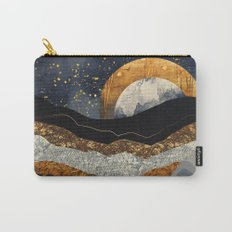 Metallic Mountains Carry-All Pouch