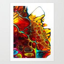 Turtle Dreaming Art Print