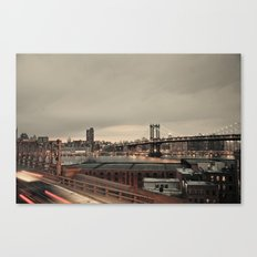 the city never sleeps:: nyc Canvas Print