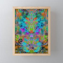 Dragon Smoke Framed Mini Art Print