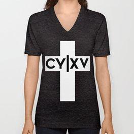 CY Cross Unisex V-Neck