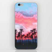 coachella iPhone & iPod Skins featuring Coachella Sunset by The Bun