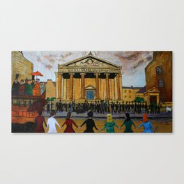 Edinburgh Seven Canvas Print