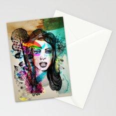 Retro Girl Stationery Cards
