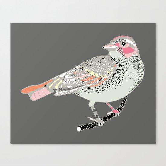longing bird Canvas Print