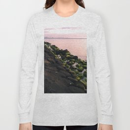 Green Stones and Skyline Long Sleeve T-shirt