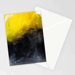 Vivid Mix Of Ink Clouds Stationery Cards