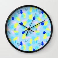 miami Wall Clocks featuring Miami  by Y A Y