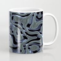 metallic Mugs featuring Metallic by Fine2art