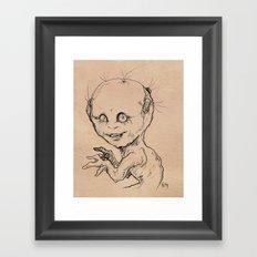Belle of the Ball Framed Art Print