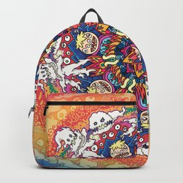 Kids See Ghosts Mandala Backpack