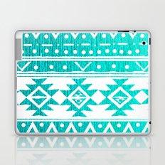AQUAMARINE TRIBAL  Laptop & iPad Skin
