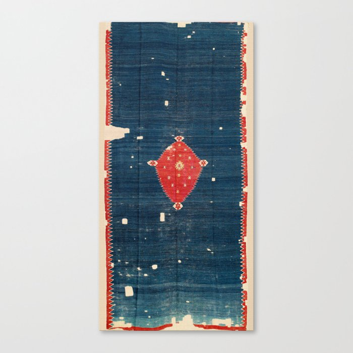 Balikesir  Antique Turkish Kilim Rug Print Leinwanddruck