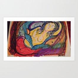 Beatrice Slumbers Art Print