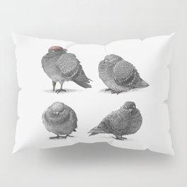 Four Pigeons Pillow Sham