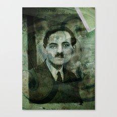 L'ancêtre Vert . . . Canvas Print