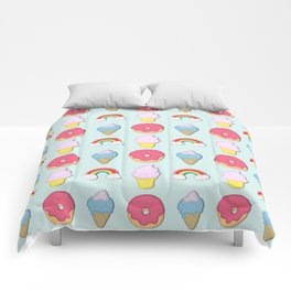 Happy Candyland Comforters
