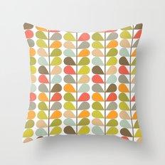 Retro Mid Century Modern Pattern 3 Throw Pillow