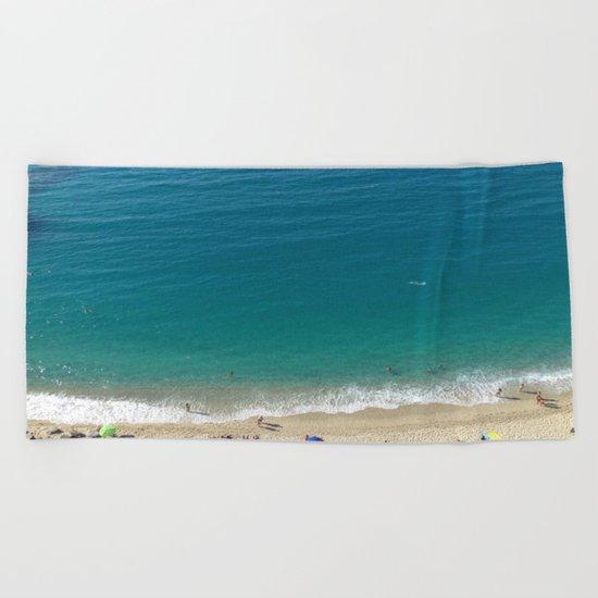 Italian Beach 1 Beach Towel