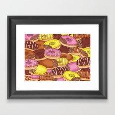 Doughnuts Framed Art Print