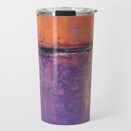 Poetic City - Urban Abstract Painting Travel Mug