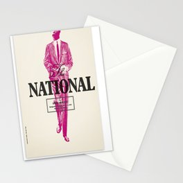 The National With Owen Pallett Stationery Cards