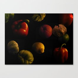 FLOATING FEAST Canvas Print