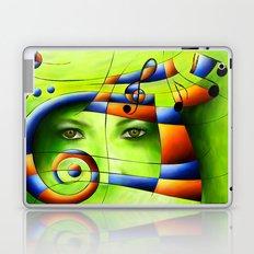 Hispanissia - painted music Laptop & iPad Skin