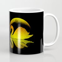 scary Mugs featuring Scary shadow' by barmalisiRTB