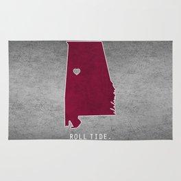 Roll Tide Rug