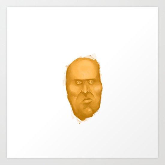 Potatoe Art Print
