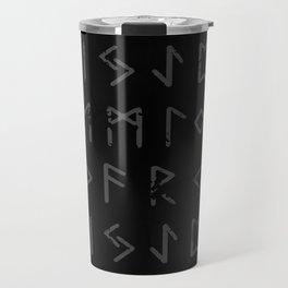 Futhark full print (viking runes) Travel Mug