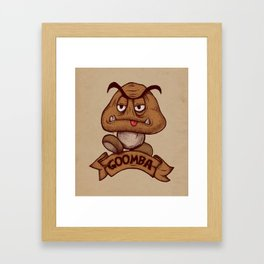 Goomba Framed Art Print