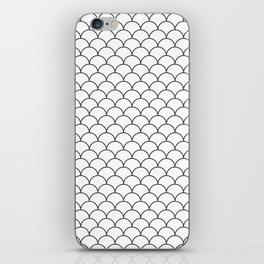 Black and White pattern iPhone Skin
