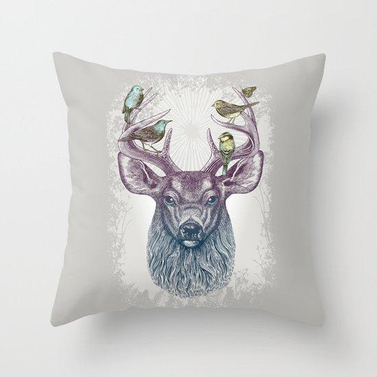 Magic Buck Throw Pillow