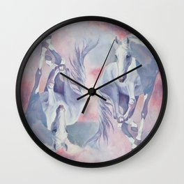 Falling Cloud Wall Clock