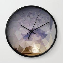 Pohaku Poly Wall Clock
