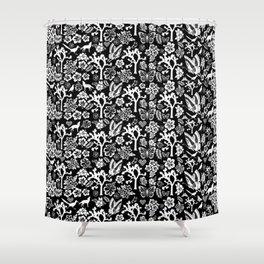 "Joshua Tree Pattern ""Yucca Bali"" by CREYES Shower Curtain"