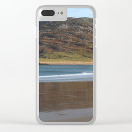 Tullagh Strand Reflections Clear iPhone Case