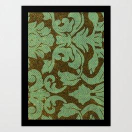 vintage tissue paper  Art Print