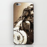 train iPhone & iPod Skins featuring Train by SteeleCat